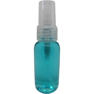 The 30ml Spray Liquid Hand Sanitiser is a waterless alcohol basid liquid hand sanitiser in a plastic bottle with spray nozzle