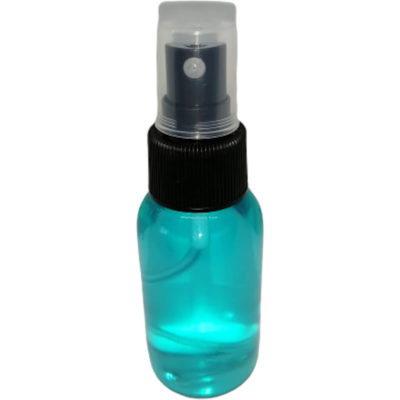 The 50ml Spray Liquid Hand Sanitiser is a waterless alcohol basid liquid hand sanitiser in a plastic bottle with spray nozzle