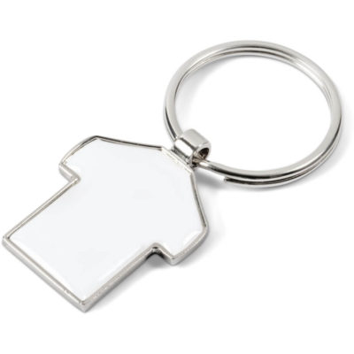 The Scrum Keyholder is a t-shirt shaped keyring pendant on a splitring keyholder made from zinc alloy. Packaged in a presentation box