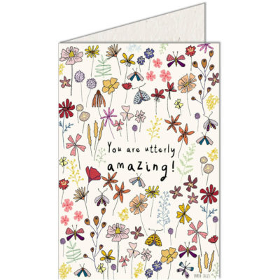 The Plantable Paper Greeting Card is made from 100% recycled paper and contains seeds, that can be planted after use to grow your own garden