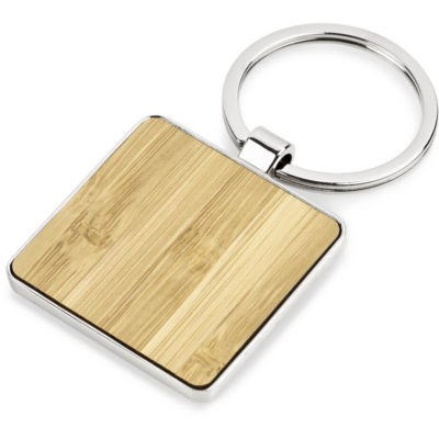 The Haida Keyholder is made from bamboo & zinc alloy with polished nickel plating with a solid metal split ring loop and comes inside a black presentation box.