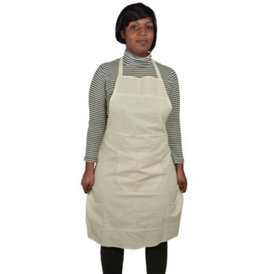 The 140g Cotton Apron keeps your clothes clean and tidy, made from 140g cotton material