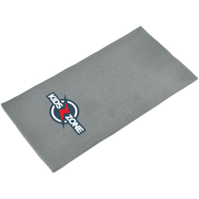 The Kids Flexi Tubular Bandana in the colour grey is made from 100% polyester with multiple ways of using it.