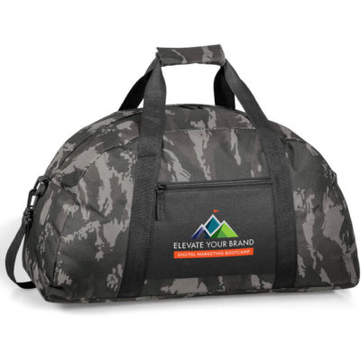 The Huntington Sports Bag is made from 600D with a adjustable and removable shoulder strap.