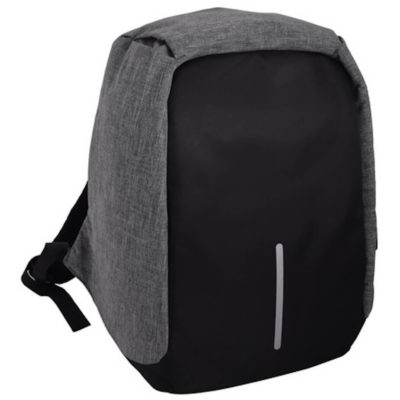 The Flash Anti-Theft Laptop Bag has a reflector strip on the front, made from 600D two-tone polyester.