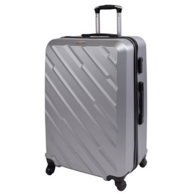 The Marco Excursion Luggage Bag has a retractable handle and 4 x rotatable wheels.