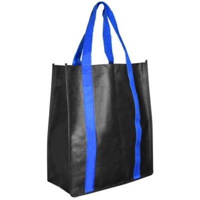 The Boeing Gusset Shopper Bag is made from reinforced 70g non-woven material in a two tone colour.