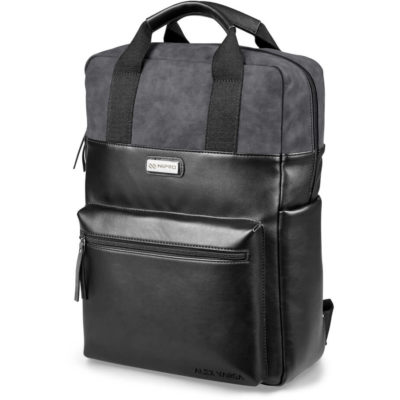 The Alex Varga Samara Laptop Backpack is made from luxury PU padded material with a volume capacity of 18 Litres.