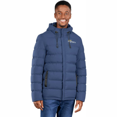 The Mens Montana Jacket is made from 100% polyester with inner padding and a elasticated hem insert. Available in different colour and sizes.